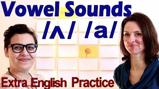 Pronounce Short O and U sounds - olive/mustard - AW/UH