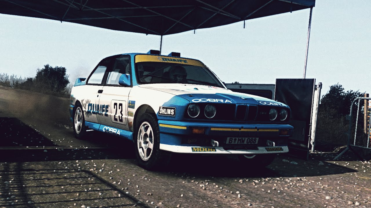 superb bmw dirt #4: (DiRT Rally) BMW E30 M3 Evo Rally - Exhaust Video