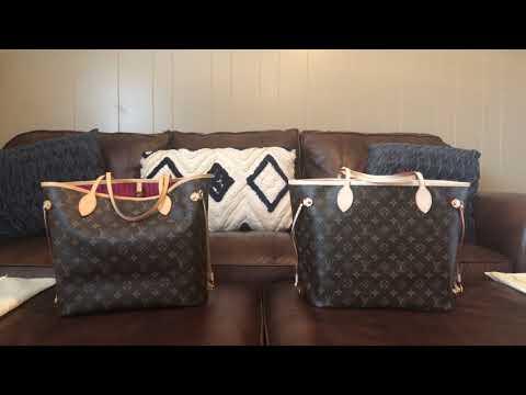 Louis Vuitton neverfull comparison authentic to replica