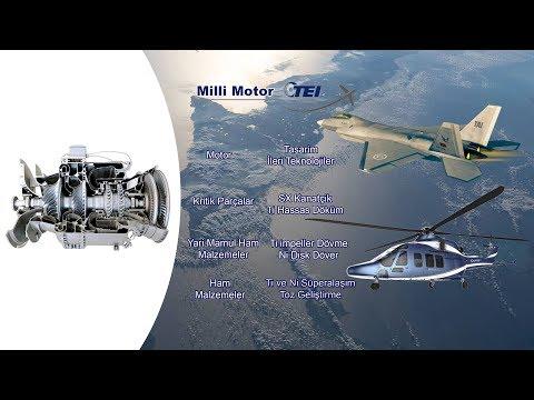 Türkiye Milli Motor Geliştirdi ( TEI )