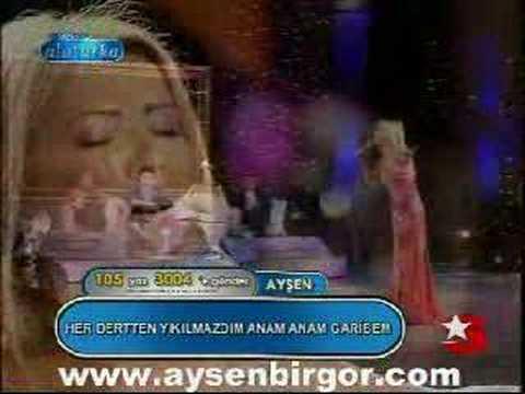 Popstar Alaturka Best 105 Ayşen 2.hafta  www.aysenbirgor.com