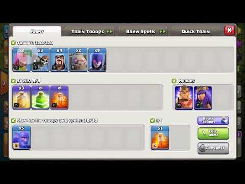 COC CLASH OF CLAN POWER TROOPS BOOST POTION - WORKS IN WAR ATTACK !!