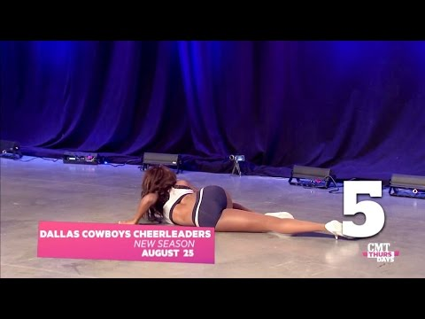 Top 5 Wipe Outs on Dallas Cowboys Cheerleaders: Making the Team