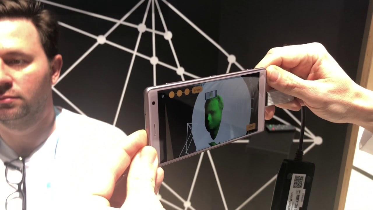 3D Creator, la app para crear selfies en 3D desde el Xperia XZ2