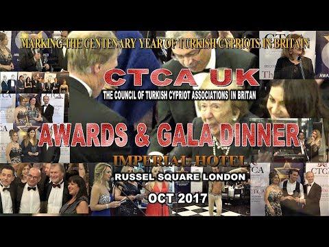 CENTENARY OF TURKISH CYPRIOTS IN BRITAIN  AWARDS & DINNER EVENING OCT 2017 HD