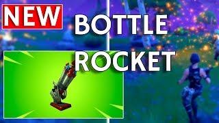 Fortnite Bottle Rocket Gameplay + Foraged Campfire | Fortnite Update