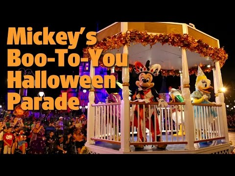 Mickey's Boo-To-You Halloween Parade | Mickey's Not-So-Scary Halloween Party 2016