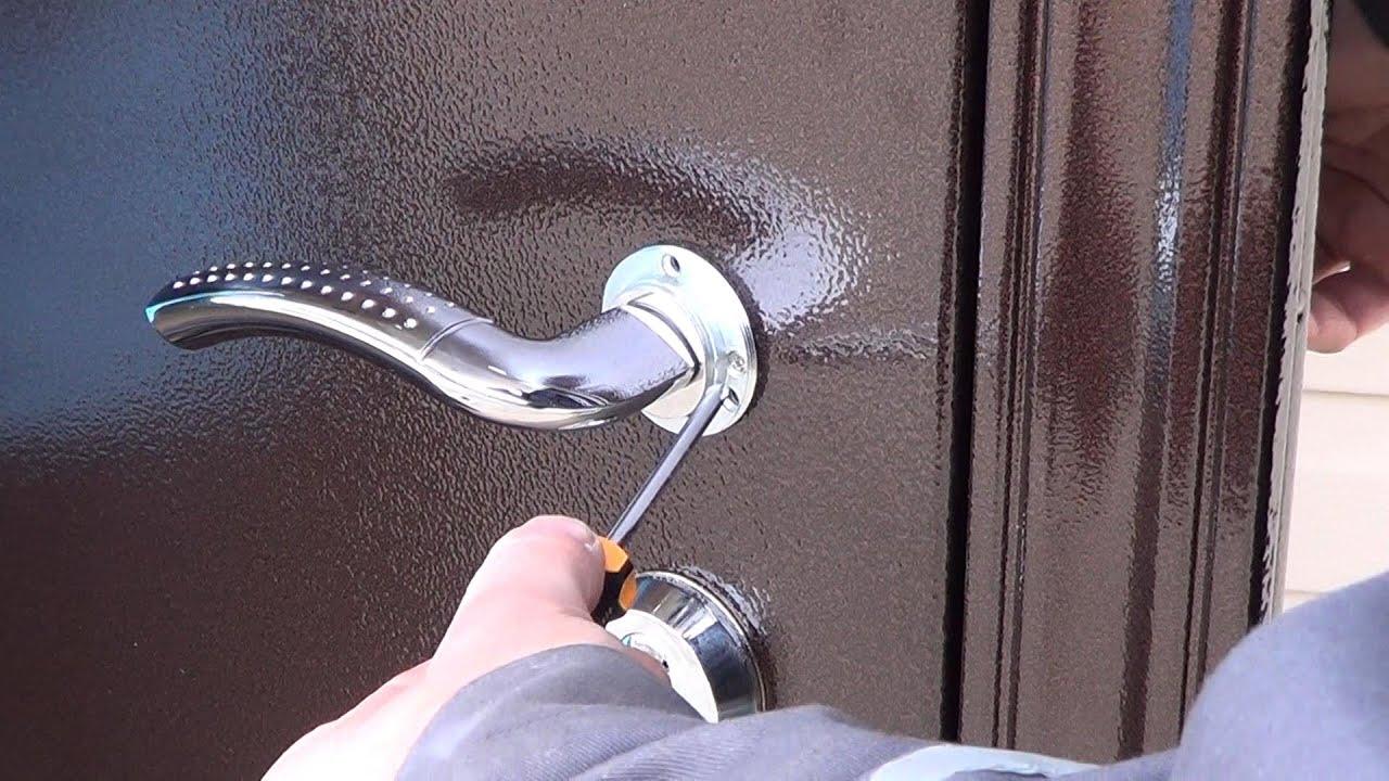 Входная дверь Гермес - YouTube