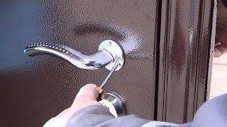 Смотреть видео установили металическую дверь а она промерзает