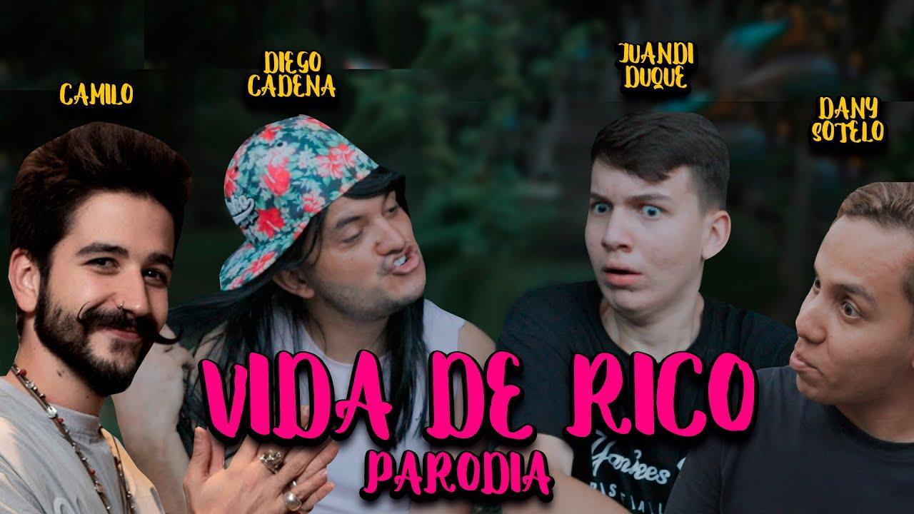 VIDA DE RICO (Parodia) ROBEMOS JUNTICOS ft. Juandi Duque & Dany Sotelo