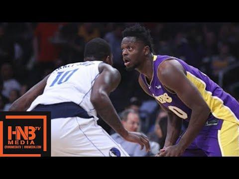 Los Angeles Lakers vs Dallas Mavericks Full Game Highlights / March 28 / 2017-18 NBA Season