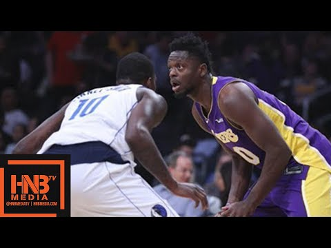 Los Angeles Lakers vs Dallas Mavericks Full Game Highlights / March 28 / 2017-18 NBA Season
