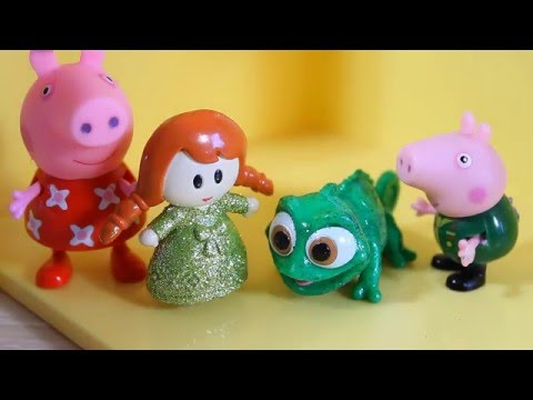 свинка пеппа игрушки бибизяка новые серии