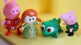 Свинка Пеппа Мультфильм для детей Подарки в День Святого Валентина
