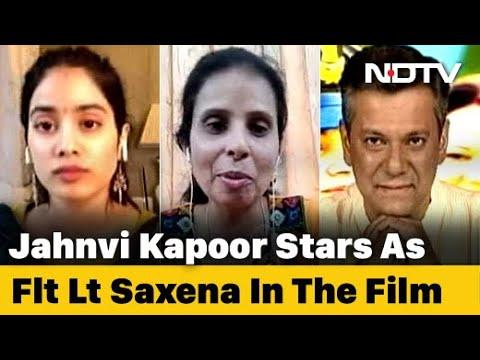 Gunjan Saxena The Kargil Girl The Movie S Ndtv Connection Youtube