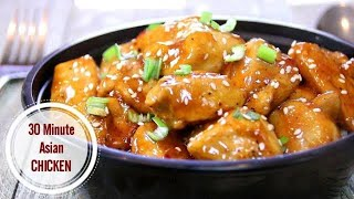 Sweet Asian Chicken in 30 Minutes