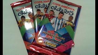 ★ PRIMICIA ★ PANINI Adrenalyn XL Copa América 2015 - 3 sobres