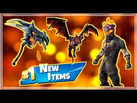 NEW Molten Lava Battle Hound Skin & Items! Fortnite Live Stream!