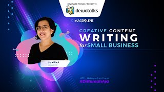 Dewatalks Creative Content Writing for Small Business