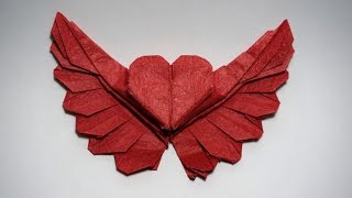 Origami Winged Heart 2.0 tutorial (Henry Phạm)