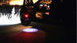 Проекция логотипа в двери авто(Сайт http://auto-e.com.ua/ Подсветка логотипа в двери авто.. Доставка: Украина, Россия, Беларусь, Молдова, Казахстан..., 2013-03-02T16:37:19.000Z)