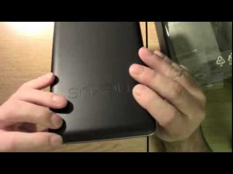Google Nexus 7 32GB Wifi version Unboxing and review - Android Tablet