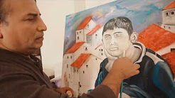 Patricio Santacruz artista plástico de Pomasqui