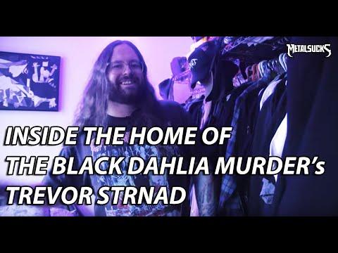 Inside BLACK DAHLIA MURDER's Trevor Strnad's Home!