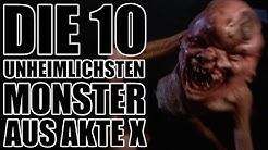 Die 10 unheimlichsten MONSTER aus AKTE X