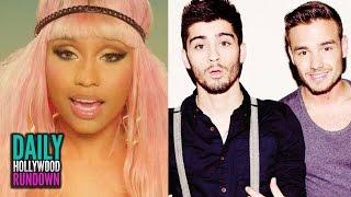 Liam Says Zayn Left 1D For Perrie? - Nicki Minaj In 'Hey Mama' Music Video (DHR)