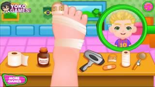 Игра для детей лечение ноги