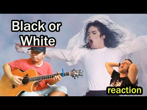 Alip Ba Ta - Black Or White - Michael Jackson (fingerstyle Guitar Cover) Reaction : Guitarist Reacts