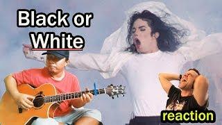 Baixar Alip Ba Ta - Black Or White - Michael Jackson (fingerstyle guitar cover) Reaction : Guitarist Reacts