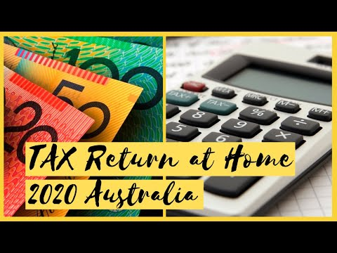 How To Do TAX RETURN Yourself At Home AUSTRALIA //  TAX RETURN ONLINE // How To Calculate Tax Return