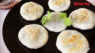 BÁNH HẸ - Cách làm BÁNH HẸ thơm ngon đơn giản tại nhà | Garlic Chive Dumplings | Mai Khôi.