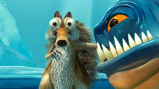Scrat vs Piranhas