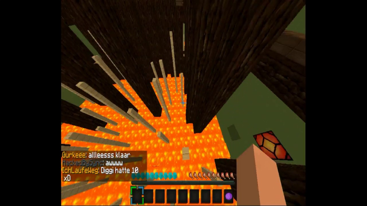 Ich Hasse Zaun Sprunge Minecraft Gommunity Jumpandrun Zaune