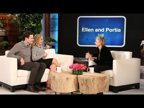 Amy Poehler and Bill Hader Play 'Heads Up!'