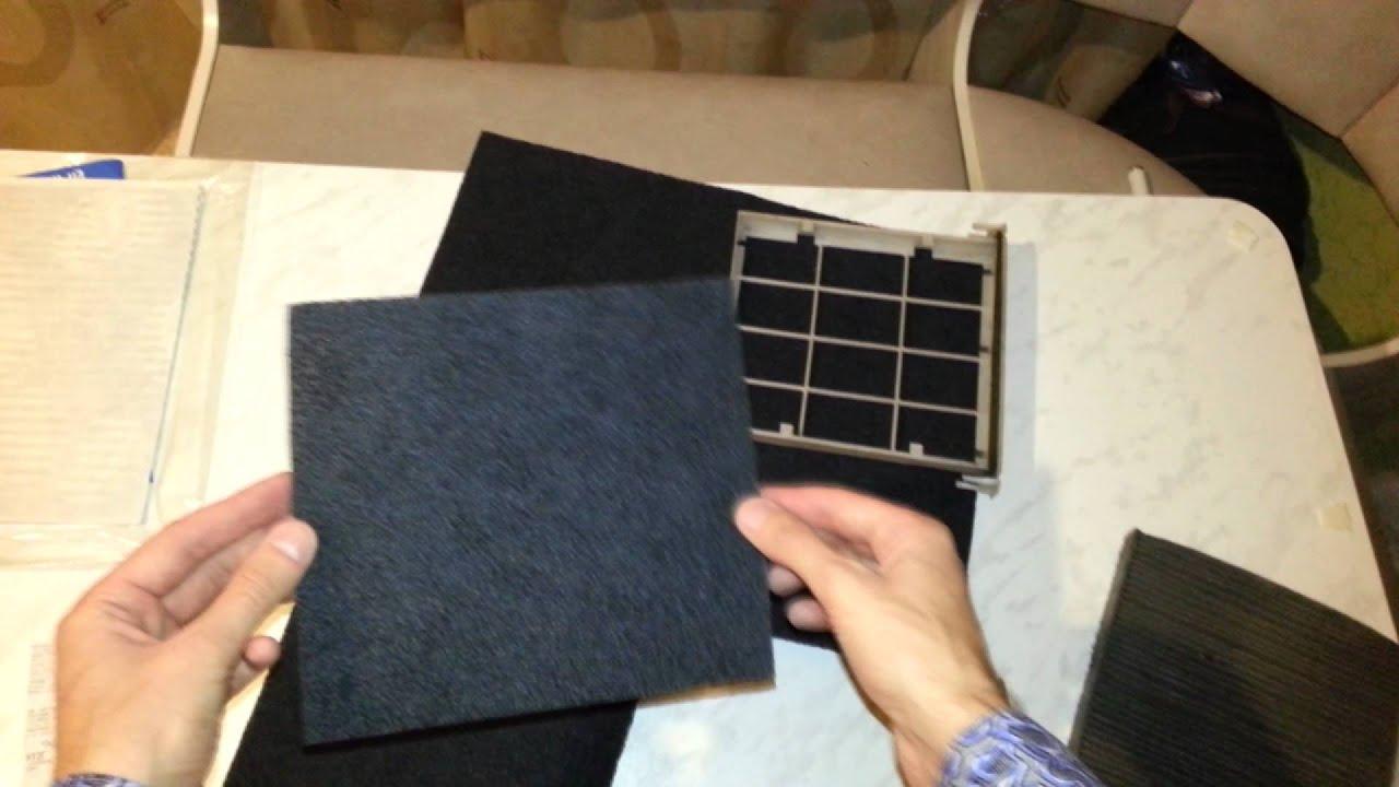 Угольный фильтр своими руками для вытяжки