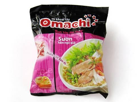No.4347 Omachi (Vietnam) Mì khoai tây, Sườn hầm ngủ quả