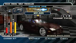 Midnight Club 3: Dub Edition - Max Money! (PS2/PSP Codes)