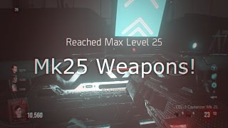 aw exo zombies mk25 weapons cel 3 cauterizer mk25 aftermath easter egg gameplay