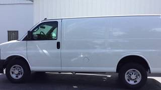 2017 Chevy Express Cargo Van 2500 Walk Around