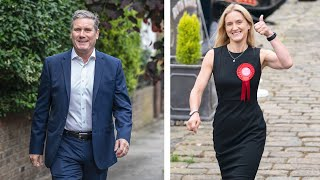 video: Batley and Spen by-election: Labour cling on to seat by only 323 votes