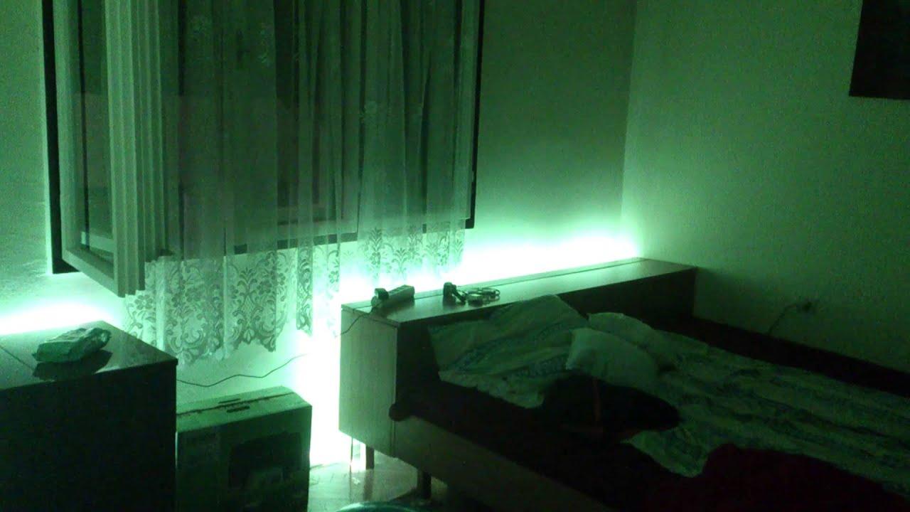 Bedroom LED Light Show YouTube - Light show for bedroom