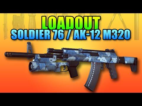 Loadout Soldier 76 AK-12 Setup | Battlefield 4 Assault Rifle Gameplay