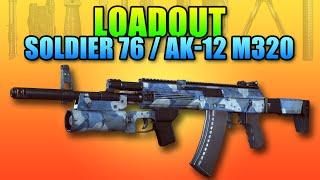 Loadout Soldier 76 AK-12 Setup   Battlefield 4 Assault Rifle Gameplay