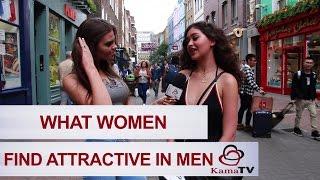 What women find attractive in men?