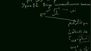 Арабский язык 2 уровень. урок 12 Множественное число