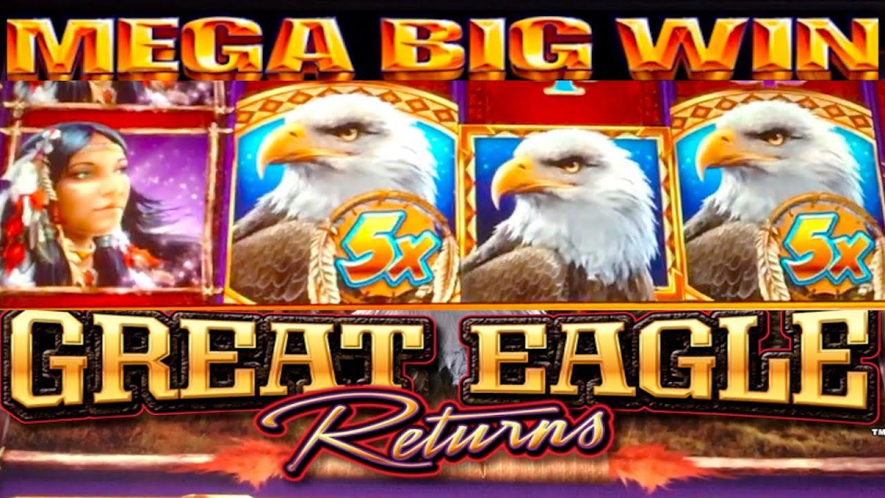 great eagle slot machine big win